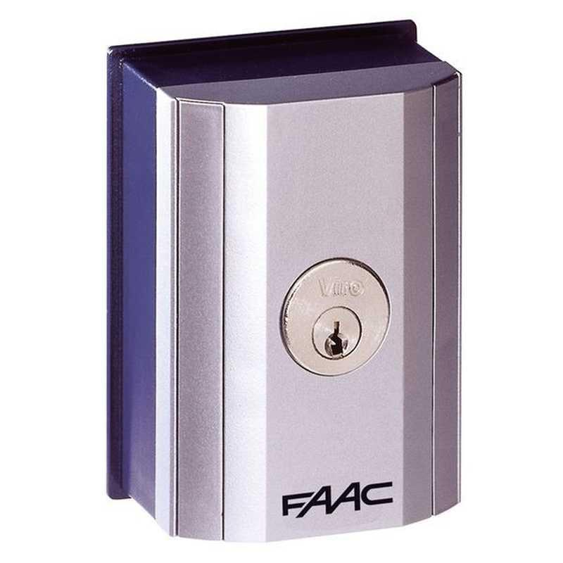 Schema Elettrico Selettore A Chiave : Selettore a chiave da esterno t e faac