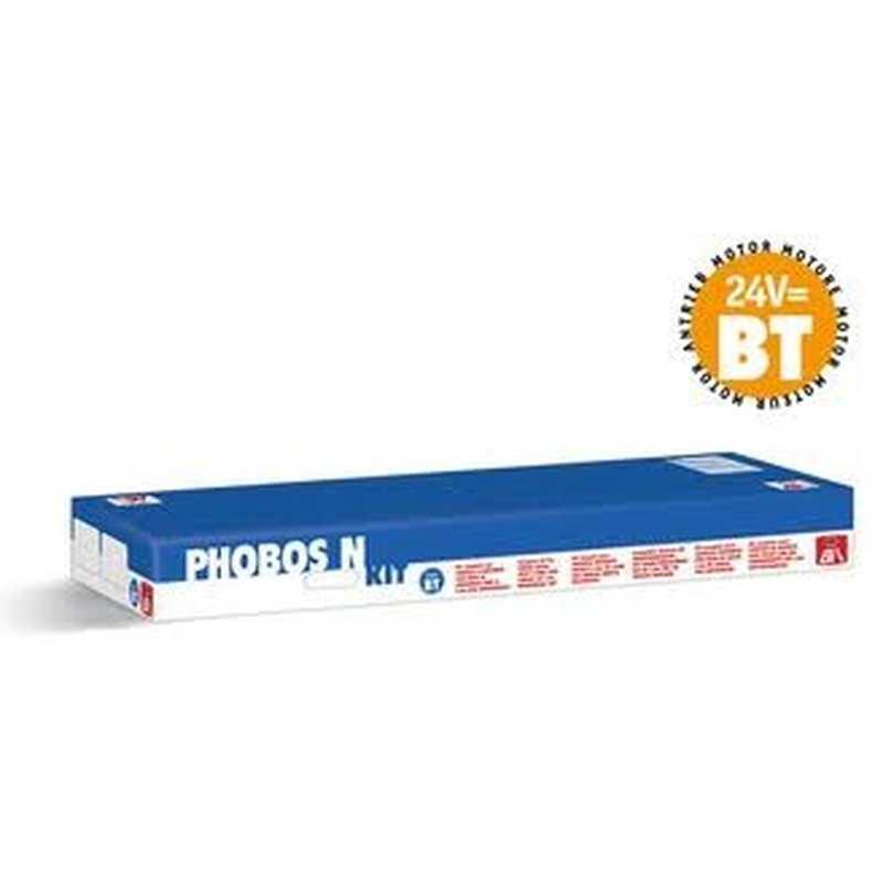 Bft phobos n bt kit motore per cancello a battente bft for Fotocellule bft 130
