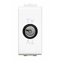 Presa TV Derivata Con Condensatore 1 Posto Serie Civili  Bticino LivingLight N4202DC