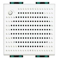 Suoneria Elettronica 12Vac/dc 2 Posti Serie Civili Bticino LivingLight N4355/12