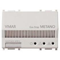 Rilevatore elettronico metano Vimar Plana 230V  bianco 14420