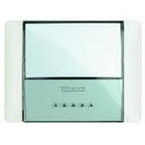 Idrobox Pulsante Targa IP55 Bianco 26108N Bticino
