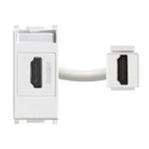 Presa standard HDMI  VIMAR PLANA aggancio Kystone bianco 14346