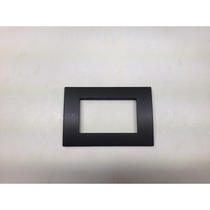 Placca Compatibile Ave in tecnopolimero Sistema 45 Colore Grigio Scuro