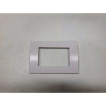 Placca Compatibile Ave in tecnopolimero Sistema 45 Colore Bianco