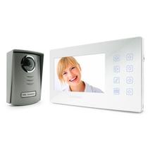 """OFFERTISSIMA KIT VIDEOCITOFONO LCD ULTRAPIATTO BIANCO 7"""" A COLORI 4 FILI AVIDSEN"""