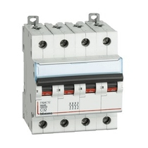 Interruttore magnetotermico Bticino 4,5 Ka 4P 6A - FA84C6