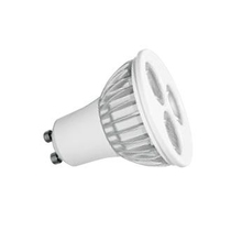 Lampada a Led GU10 5W 3 led Luce Calda Reer
