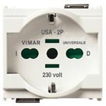 Presa 2P+T Vimar Idea 16A universale bianco 16210.B