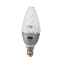 Lampada a led Tortiglione Luce Calda Reer 230V 4W attacco E14
