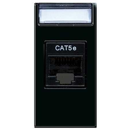 Presa di rete rj45 categoria 5e ave life sistema 44 ave 442027c5e - Interruttori ave sistema 45 ...