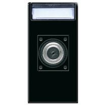 Presa coassiale TV/SAT diretta con porta utente IEC 60169-2