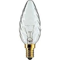 Lampada Incandescenza Tortiglione chiara 40W E14 230V Philips 40TOR