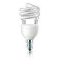 Lampada a risparmio energetico TORNADO T2 12W Luce Fredda E14 Philips MTOR8Y12E14CDL