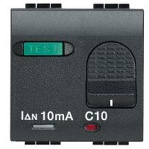 INTERRUTTORE AUTOMATICO MAGNETOTERMICO DIFFERENZIALE 10A 0,01 LIVING INTERNATIONAL L4305/10