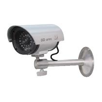 Finta Telecamera Impermeabile con Visori Notturni e Led di Operatività GBC 67375019