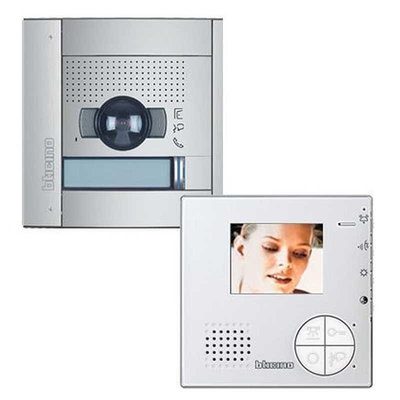 videocitofono in kit monofamiliare 2 fili colore mani