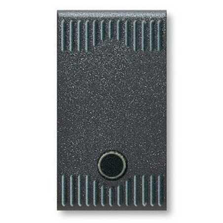 Deviatore illuminabile con gemma sistema 45 ave noir 45302g - Interruttori ave sistema 45 ...