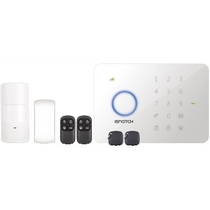 KIT ANTIFURTO SECURWI - CENTRALE WIRELESS CON APP IPHONE/ANDROID GBC 67320060