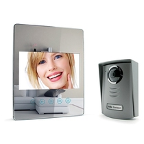 Videocitofono a specchio ultrapiatto a colori 7'' Avidsen 112205