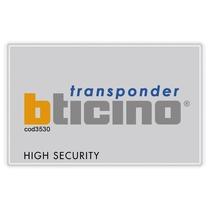 Badge portatile per attivazione Antifurto e automazioni MyHome Bticino 3530S