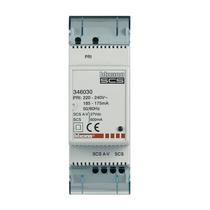 minialimentatore 2 DIN con adattatore video integrato Bticino 346030