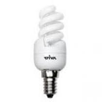 Lampada a risparmio energetico 9W Attacco piccolo luce calda Wiva 11070201