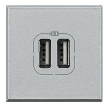 Caricatore USB 2 Prese 2...