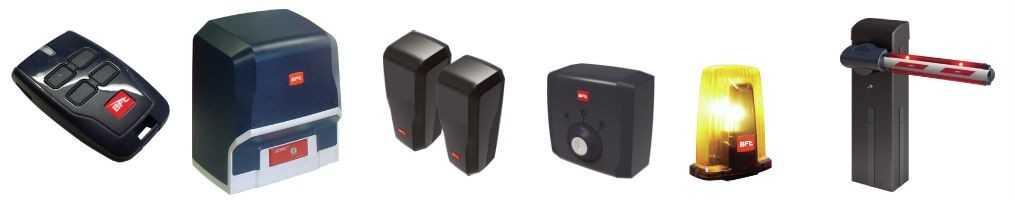 BFT automazioni per cancelli e telecomandi: prezzi e catalogo
