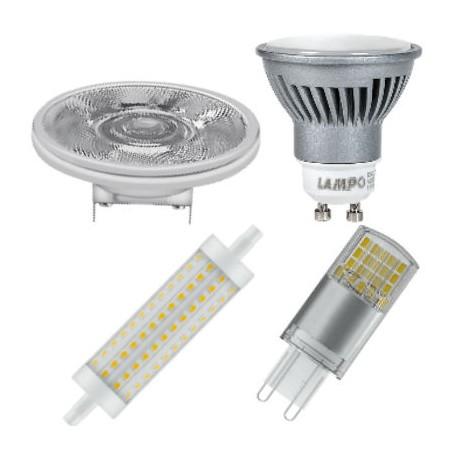 Lampade a LED GU10 , R7s , G9