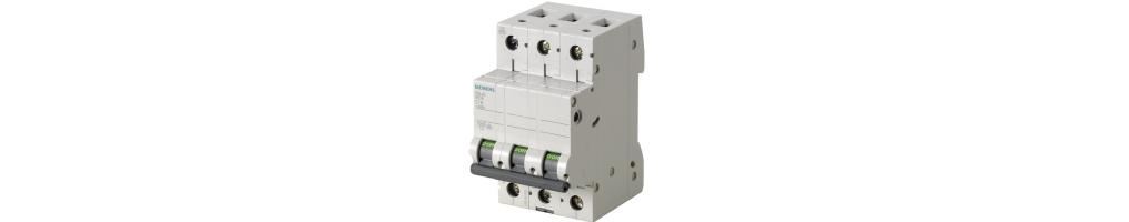 Interruttori automatici e differenziali Siemens