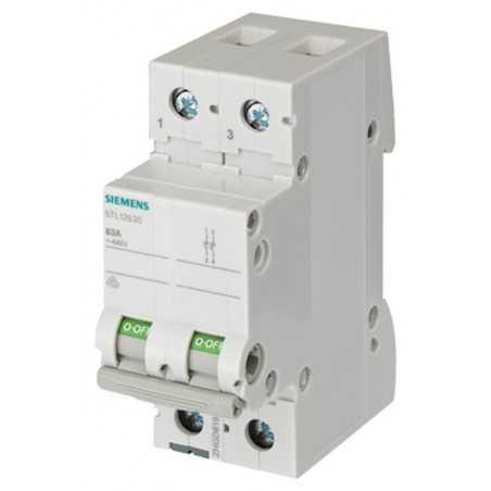 Magnetotermici Siemens 1P+N 2 Moduli