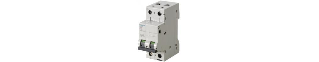 Interruttori Siemens Bipolari a due moduli