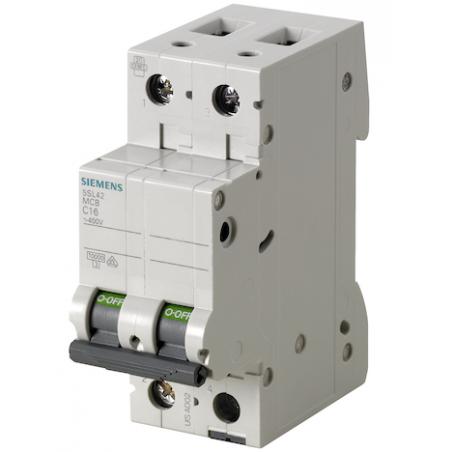 Magnetotermici Siemens Bipolari a due moduli