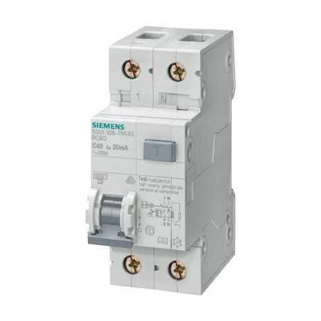 Magnetotermici Differenziali Siemens 1P+N 2 Moduli