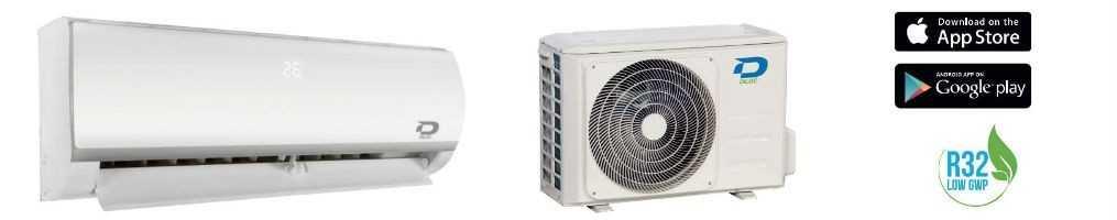 Condizionatori d'aria Diloc Inverter da 9000 a 18000 con comando Wifi