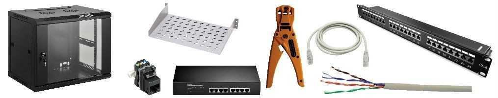 Cablaggio strutturato e cavi per reti LAN | Emmebistore.com