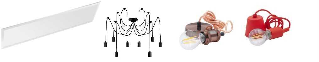 Lampadari e sospensioni per illuminazione