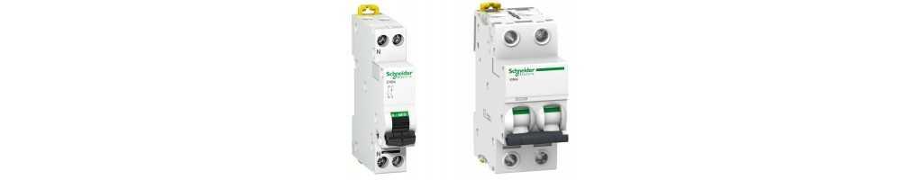 Interruttori Magnetotermici Schneider 1 e 2 Moduli | Emmebistore.com