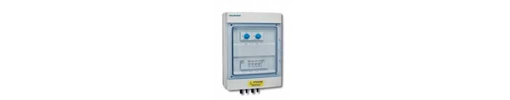 Quadri fotovoltaico per protezione e parallelo stringhe