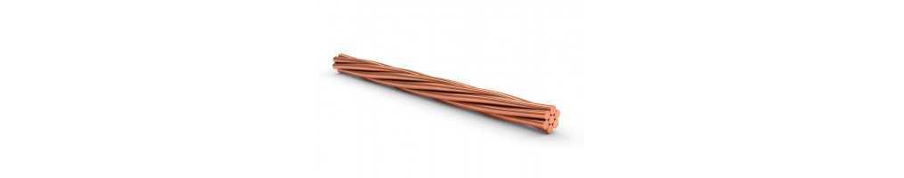Corda di rame nuda