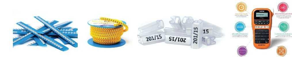 Sistemi di siglatura per i cavi e accessori di segnalazione