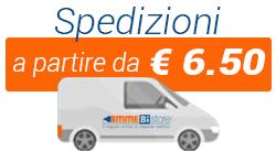 Le spedizioni su Emmebistore Materiale Elettrico Online a partire da € 6.50