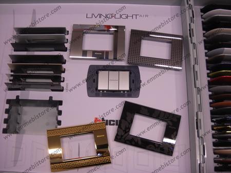Placche Living Light Bticino Catalogo E Acquisto